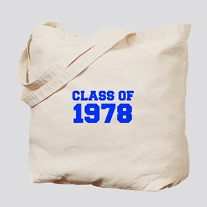 CLASS OF 1978-Fre blue 300 Tote Bag