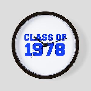 CLASS OF 1978-Fre blue 300 Wall Clock