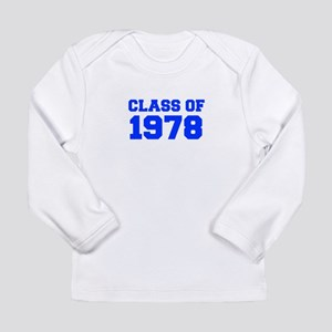CLASS OF 1978-Fre blue 300 Long Sleeve T-Shirt