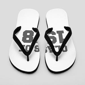 CLASS OF 1978-Fre gray 300 Flip Flops