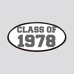 CLASS OF 1978-Fre gray 300 Patch