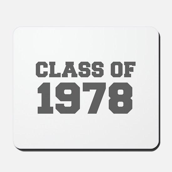 CLASS OF 1978-Fre gray 300 Mousepad