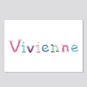 Vivienne Princess Balloons Postcards 8 Pack