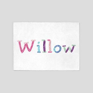 Willow Princess Balloons 5'x7' Area Rug