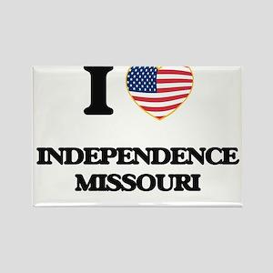 I love Independence Missouri Magnets