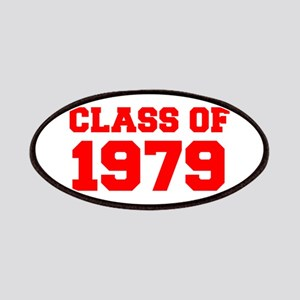 CLASS OF 1979-Fre red 300 Patch