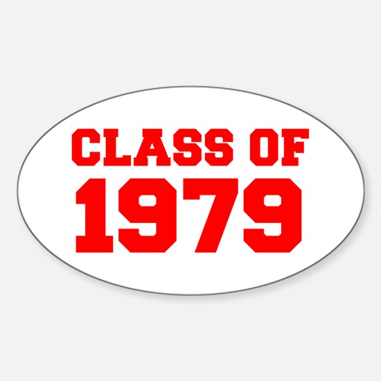 CLASS OF 1979-Fre red 300 Decal