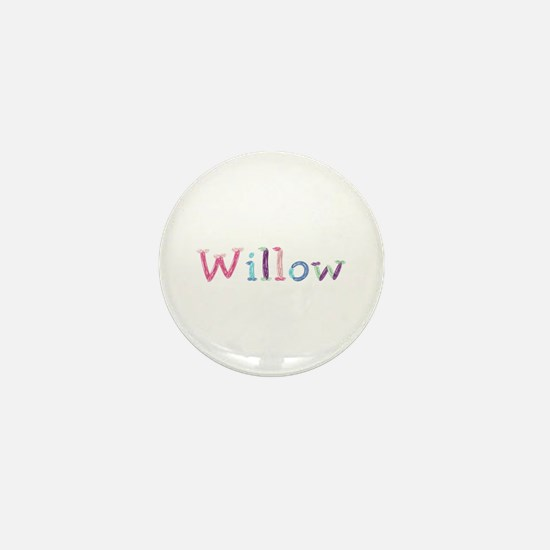 Willow Princess Balloons Mini Button