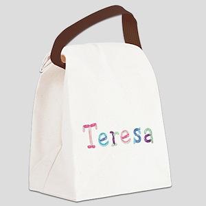 Teresa Princess Balloons Canvas Lunch Bag