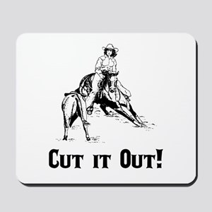 Cutting Horse Mousepad