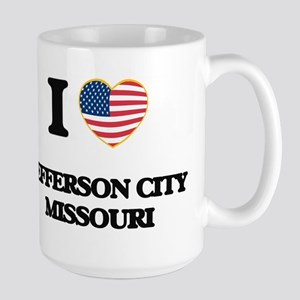 I love Jefferson City Missouri Mugs