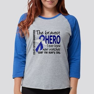 Bravest Hero I Knew Colon Cancer Long Sleeve T-Shi