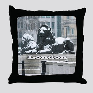 LONDON PRO PHOTO Throw Pillow
