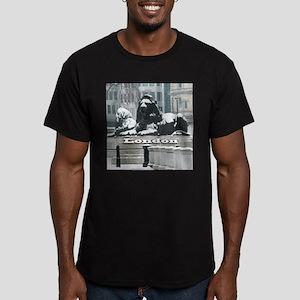 LONDON PRO PHOTO Men's Fitted T-Shirt (dark)