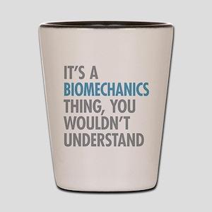 Biomechanics Shot Glass