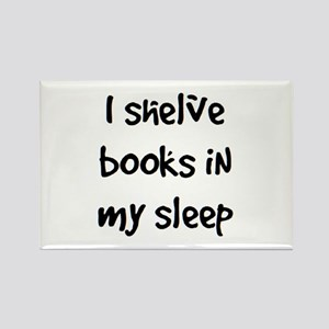 shelve books Rectangle Magnet