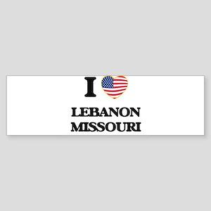 I love Lebanon Missouri Bumper Sticker