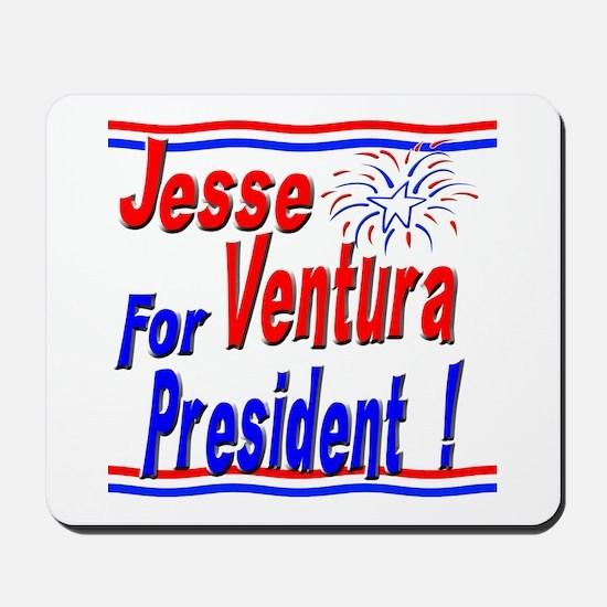 Ventura for President Mousepad