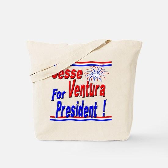 Ventura for President Tote Bag
