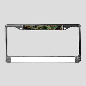 Piggyflage License Plate Frame