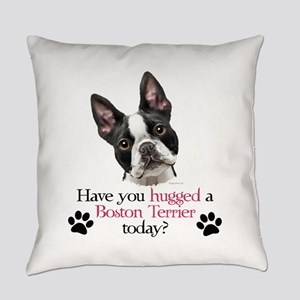 Boston Hug Everyday Pillow