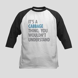 Cabbage Thing Baseball Jersey