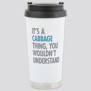 Cabbage Thing Stainless Steel Travel Mug