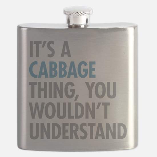 Cabbage Thing Flask