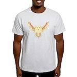 Flying Barn Owl Light T-Shirt