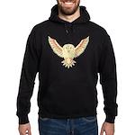 Flying Barn Owl Hoodie (dark)