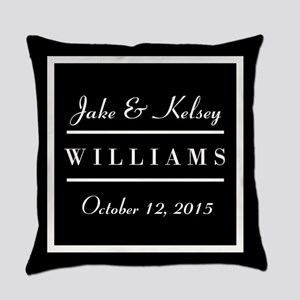 Personalized Black and White Family Keepsake Every