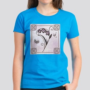 Harvest Moons Art Deco Flower T-Shirt