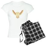 Flying Barn Owl Women's Light Pajamas