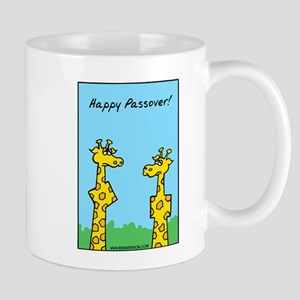 Happy Passover Giraffes Mug Mugs