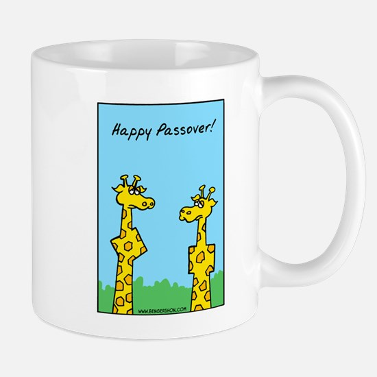 Happy Passover Giraffes Mug Mugs