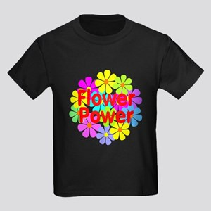 Flower Power Kids Dark T-Shirt
