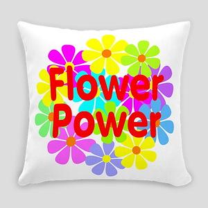 Flower Power Everyday Pillow