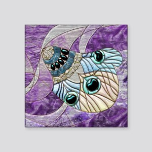 Harvest Moons Peacock Feather Sticker