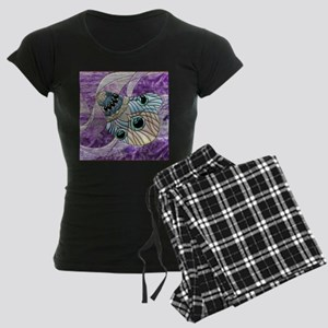 Harvest Moons Peacock Feather Pajamas
