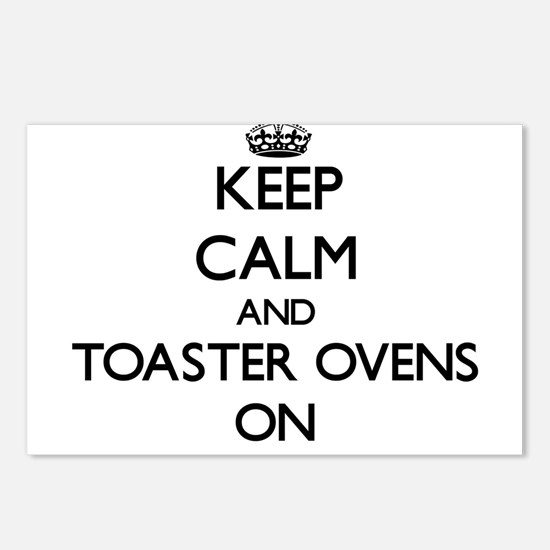 Keep Calm and Toaster Ove Postcards (Package of 8)