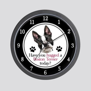 Boston Hug Wall Clock