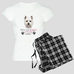 Westie Hug Women's Light Pajamas