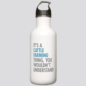 Cattle Farming Stainless Water Bottle 1.0L