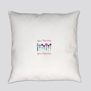 Floral Everyday Pillow