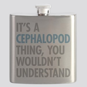 Cephalopod Thing Flask