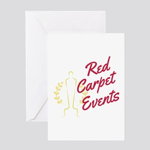 Red Carpet Events Greeting Cards