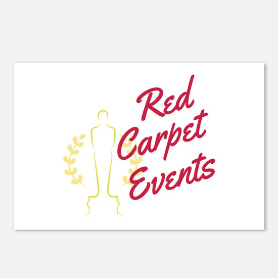 Red Carpet Events Postcards Package Of 8