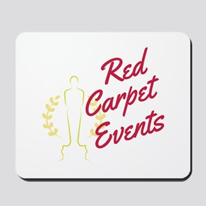 Red Carpet Events Mousepad