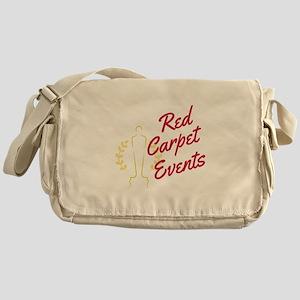 Red Carpet Events Messenger Bag