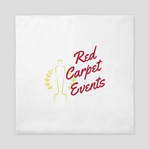 Red Carpet Events Queen Duvet
